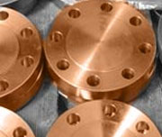 10 Inch, Class 600, FF, 70/30 Copper Nickel Blind Flanges