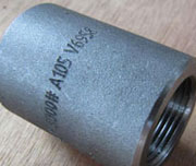 1 Inch, 9000#, ASTM A105N Carbon Steel Coupling