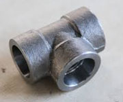 1 1/2 Inch, Class 150 LB, SW, ANSI B16.11, A182 F304 Equal Tee