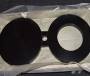 A694 Carbon Steel F65 Spectacle Blind Flanges