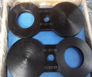 2 Inch, ASME B16.48, 1500#, A350 LF2 CL1 Spectacle Blind Flange