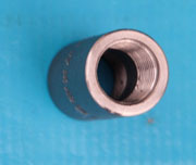 1 Inch, Class 3000, ASTM A105N Coupling