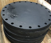 4 Inch, 150 LB, Raised Face End, ASTM A105N CS Blind Flange