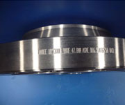 40 Inch, Class 150, Raised Face, BS 3293, ASTM A105N Slip On Flange