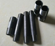 3/4 Inch, SCH 160, ASTM A182 F11 Black Pipe Nipple