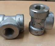 4 Inch, SCH 10S, BE, ANSI B16.11, ASTM A182 F316 Equal Tee