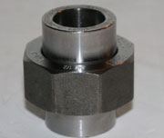 3/4 Inch, Class 3000, MSS-SP-83, ASTM Carbon Steel Pipe Union