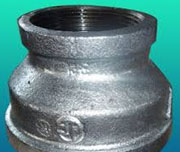 PN 20, SW Ends, CS Galvanized Concentric Reducer