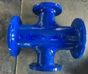Ductile Iron Reducing Cross