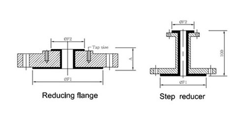 Dimensions Of Galvanized Reducing Flange
