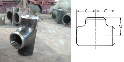 Incoloy Forged Socket Weld Reducing Tee