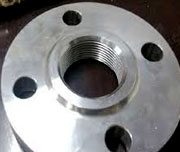 8 Inch, 300 LB, FF, SA182 F11 Screw Thread Flanges