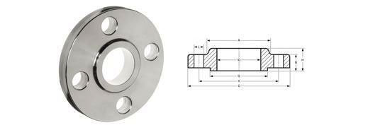 BS4504 Pn16 Slip On Flanges Dimensions Table