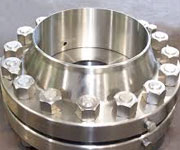 3 In, Class 300, SCH 40, Raised Face, SS A182 F304 Orifice Flange