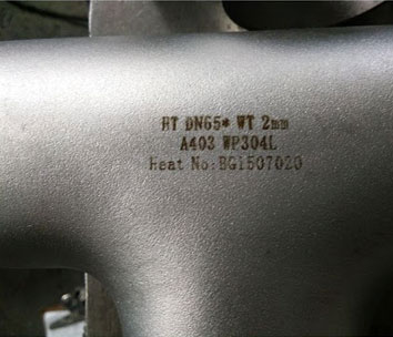 ASTM A403 Stainless Steel 304l Pipe Fittings