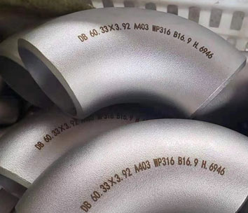 ASTM A403 Stainless Steel 316 Pipe Fittings