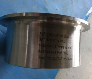 ASTM A403 Stainless Steel 316L Pipe Fittings